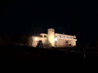 夜のワイン城